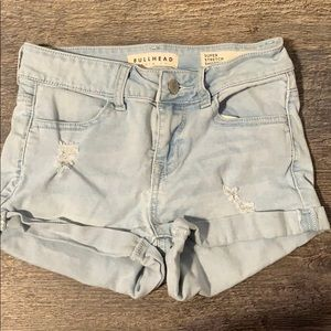 Pacsun Mid rise super stretchy jean shorts